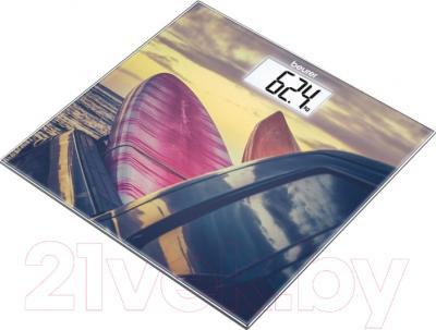 Напольные весы электронные Beurer GS 203 Surf