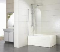 Стеклянная шторка для ванны Bravat Alfa NF6211 -