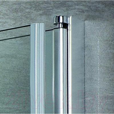 Стеклянная шторка для ванны Bravat Alfa NF6211