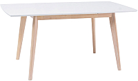 Обеденный стол Signal Combo II (белый/беленый дуб) -