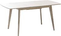 Обеденный стол Signal Combo II (дуб беленый) -