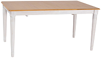 Обеденный стол Signal Fado (дуб/белый) -