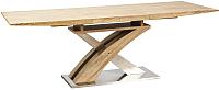 Обеденный стол Signal Raul (дуб сонома) -