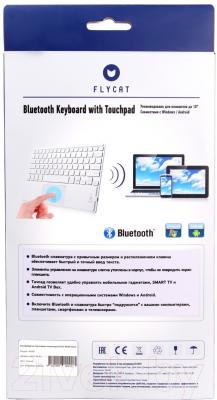 Клавиатура Flycat KB30T (белый)