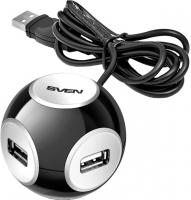 Разветвитель USB Sven HB-444 (черный) -