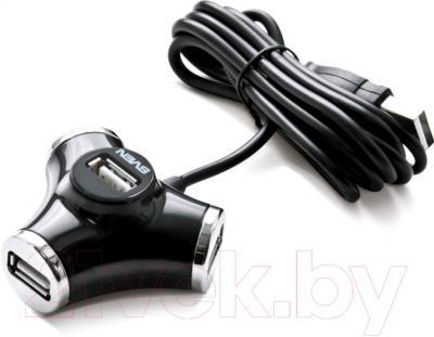 Разветвитель USB Sven HB-012 (черный)