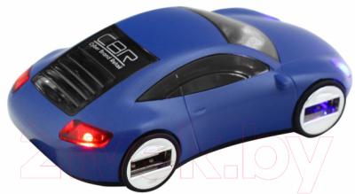 Разветвитель USB CBR MF-400 (синий)