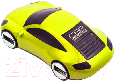 Разветвитель USB CBR MF-400 (желтый)