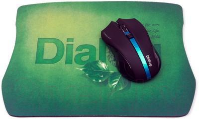 Коврик для мыши Dialog PM-H20 (зеленый)