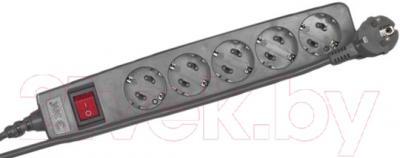 Сетевой фильтр ЭРА SF-5es-2m-B (черный)