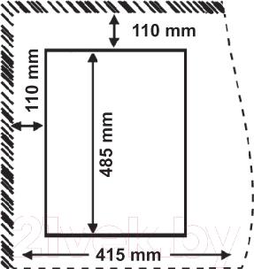 Газовая варочная панель Korting HGG485CTN