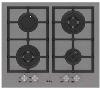 Газовая варочная панель Korting HG665C2TX