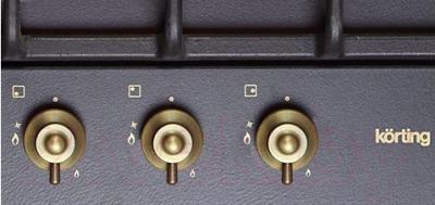 Газовая варочная панель Korting HG455CTRN