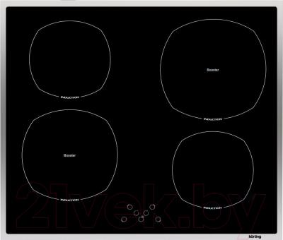 Индукционная варочная панель Korting HI6402X