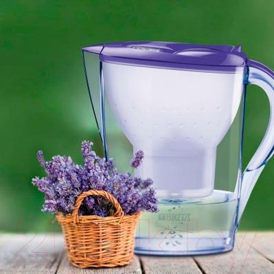 Фильтр питьевой воды Brita Marella XL Мемо (сиреневая лаванда)