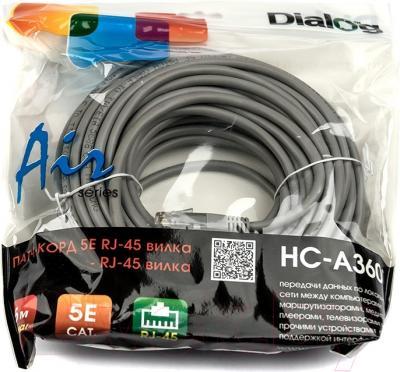 Сетевой кабель Dialog HC-A3600