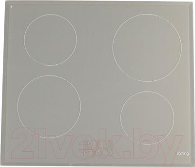 Индукционная варочная панель Korting HI6450BGR
