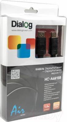 Кабель DisplayPort Dialog HC-A4418B