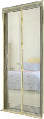 Москитная дверь Lixin Белая