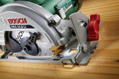Дисковая пила Bosch PKS 10.8 Li (0.603.3C7.000)