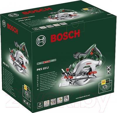 Дисковая пила Bosch PKS 18 Li (0.603.3B1.302)
