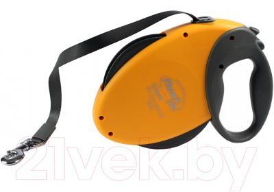 Поводок-рулетка Flexi Giant Professional FLX150 (оранжевый)
