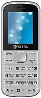 Мобильный телефон Oysters Saratov (серебристый) -