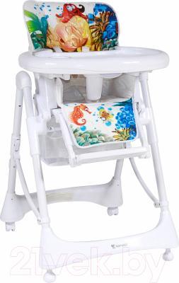 Стульчик для кормления Lorelli Lollipop White Mermaid (10100231632)