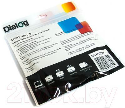 Кабель USB Dialog HC-A2330