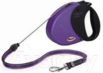 Поводок-рулетка Flexi Comfort Long FLX008 (М, пурпурный)