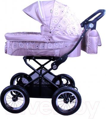 Детская универсальная коляска Babyhit Evenly 2 в 1 (Chocolate Flower)