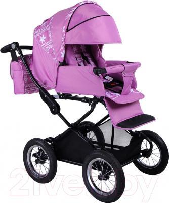 Детская универсальная коляска Babyhit Evenly 2 в 1 (Chocolate Flower) - внешний вид прогулочного блока на примере модели другого цвета