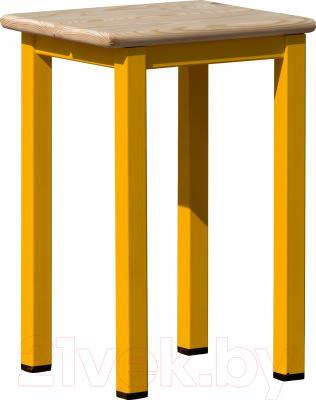 Стул садовый 123 Эконом Оранжевый