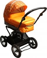 Детская универсальная коляска Babyhit Evenly 2 в 1 (оранжевый) -