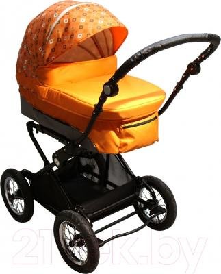 Детская универсальная коляска Babyhit Evenly 2 в 1 (оранжевый)