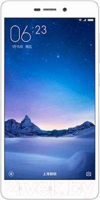 Смартфон Xiaomi Redmi 3 Pro 32GB (белый/серебро)