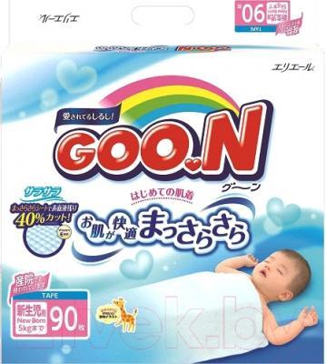 Подгузники Goo.N N/B 0-5кг (90шт)