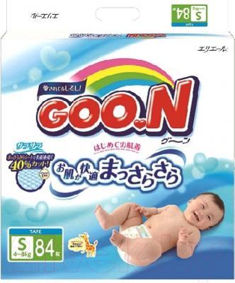 Подгузники Goo.N S 4-8кг (84шт)