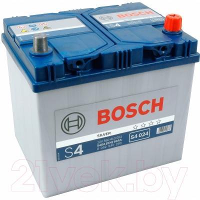 Автомобильный аккумулятор Bosch S4 024 560 410 054 JIS / 0092S40240 (60 А/ч)