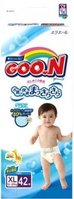 Подгузники Goo.N XL 12-20кг (42шт)