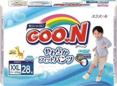 Подгузники-трусики Goo.N Boy 13-25кг (28шт)