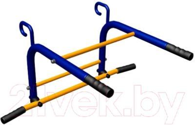 Турник навесной Romana ВО.92.83.00 (синий/желтый)