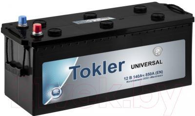 Автомобильный аккумулятор Tokler Universal 140 L (140 А/ч)