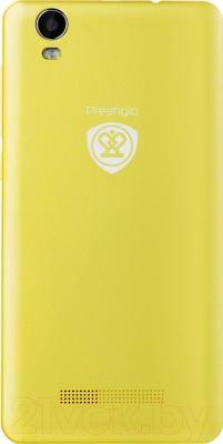 Смартфон Prestigio Wize N3 3507 Duo / PSP3507DUOYELLOW (желтый)