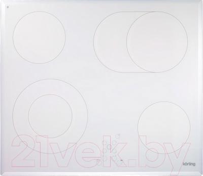 Электрическая варочная панель Korting HK6205BW