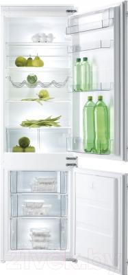 Холодильник с морозильником Korting KSI17850CF