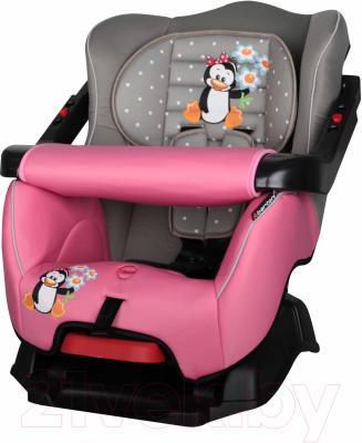 Автокресло Lorelli Bumper (Grey Pink Penguin)