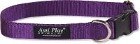 Ошейник Ami Play Basic AMI123 (L, фиолетовый) -