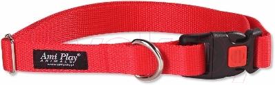 Ошейник Ami Play Basic AMI116 (XL, красный)