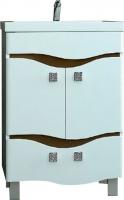 Тумба под умывальник Ванланд Симфония 2-80 (коричневый) -